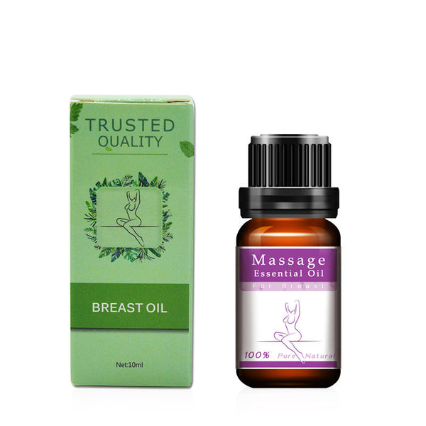 10 ML Massage Essential Oil for Breast Enlarging Blood Circulation Promotion