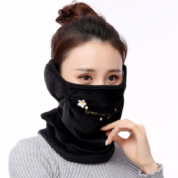 Women Men Autumn Winter Keep Warm Outdoor Mask Earmuffs