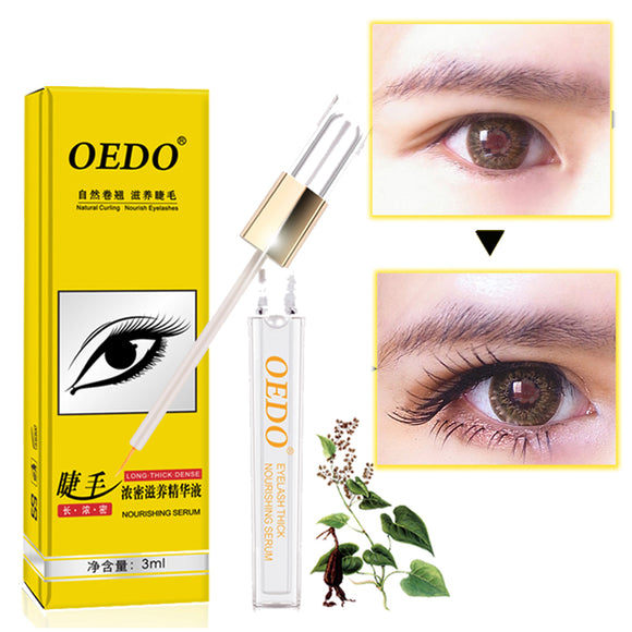 Curling Eyelash Growth Eye Serum Eyelash Enhancer Longer Fuller Thicker Lashes