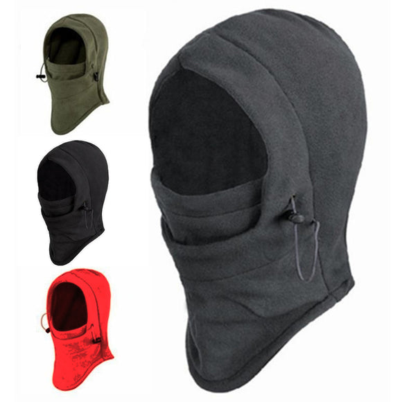 Autumn And Winter Warm Hat Plush Windproof Mask Outdoor Riding Mask