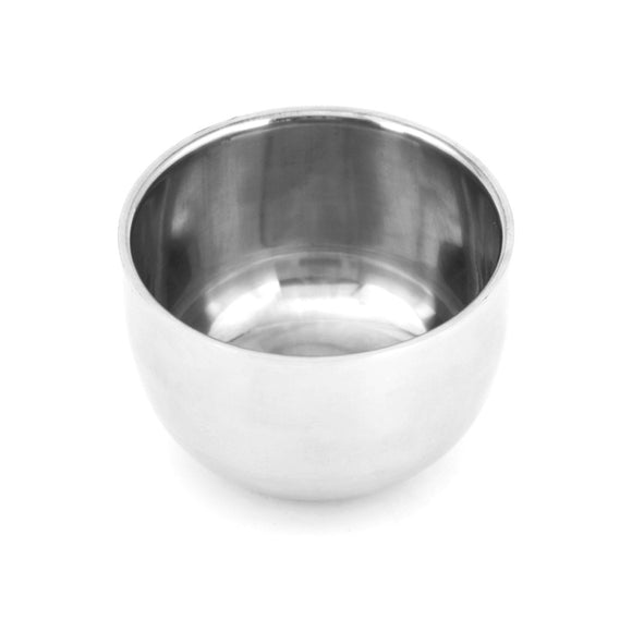 Men's Shaving Mug Bowl Cup For Shave Stainless Steel Metal High Quality