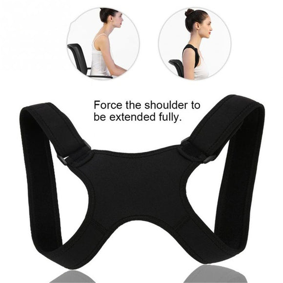 Back Correction With Kyphosis Correction Breathable Clavicle Posture Adjustable Correction Belt