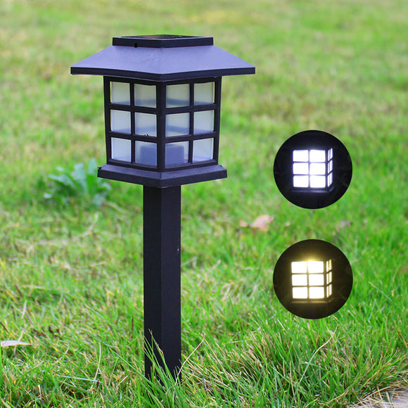 Rainproof Solar Outdoor Led Lawn Lamp Small House Lamp Courtyard Garden Lamp