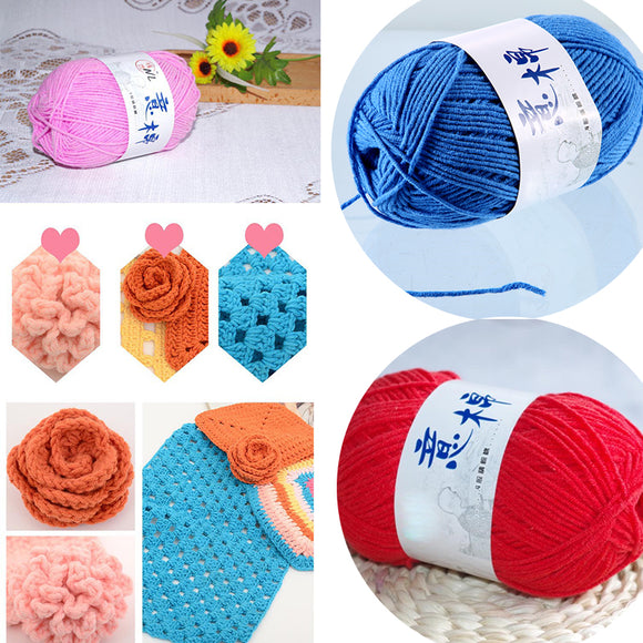 Women Clothing Accessories Peripheral Wool Solid Wool For Crochet Knitting Crafting