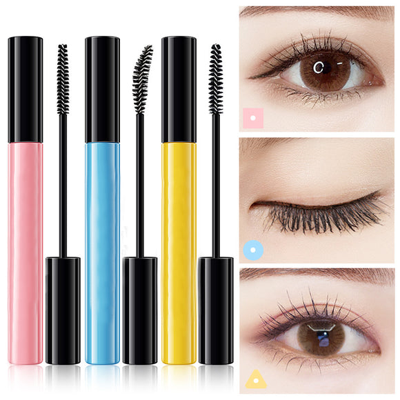 Macaroon Waterproof Not Dizzy Makeup Thick And Slender Mascara