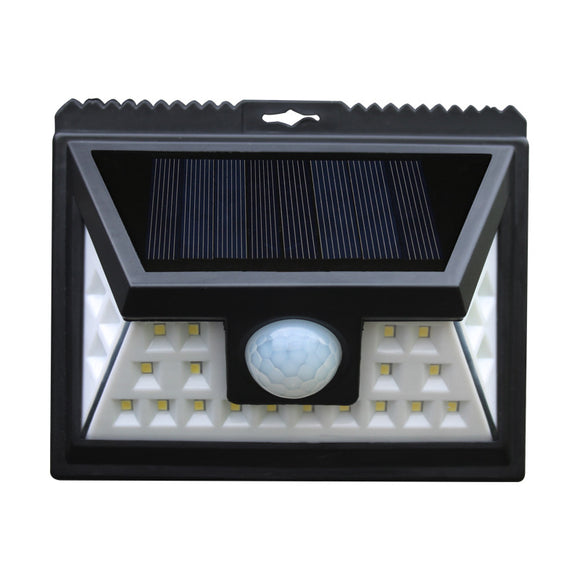 Solar Energy 24led Three-side Light Emitting Integrated Street Lamp Human Induction Wall Lamp