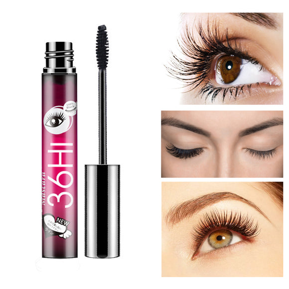 24 Hours Durable Waterproof Curling Mascara Makeup Chaming