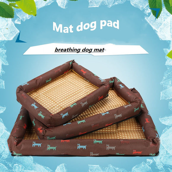 Pet Dog Bed Special Printed Fabric Pet Bed For Large Medium And Small Dogs