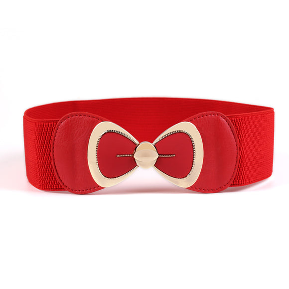 New Ladies Elegant Big Bow Belt Fashion Waist Belt