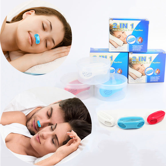 Portable Silicone Anti-snoring Device To Improve Sleep