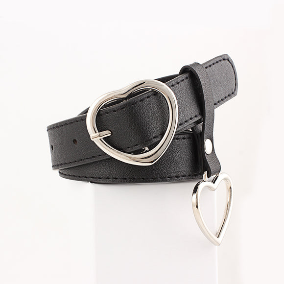 Love Heart Buckle Belts For Gils And Women Jeans Belt
