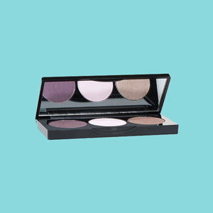 3-Well Magnetic Makeup Kit Eyeshadow Pan (Empty)