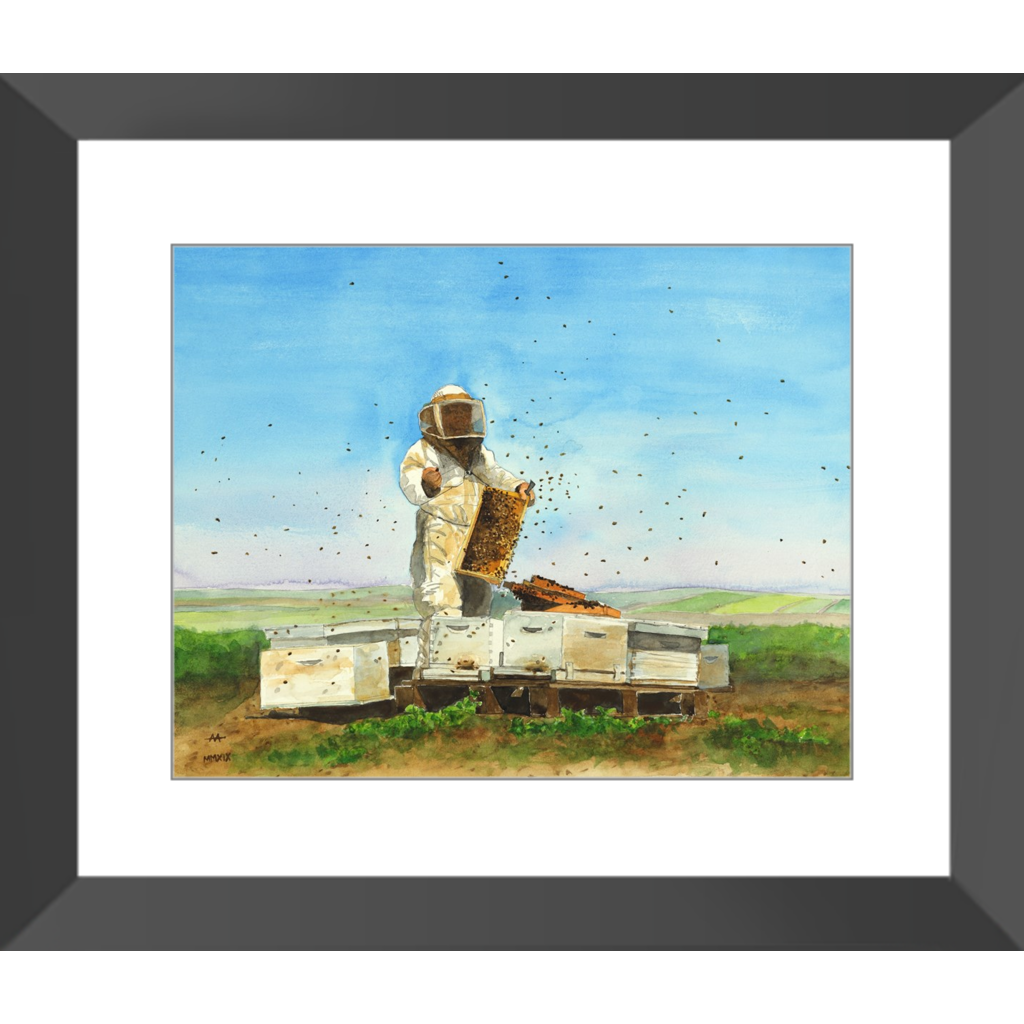 "Framed Art Print - ""Marked Queen"""