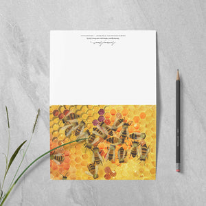 "Box of 10 Note Cards - ""Pollen Stores"""