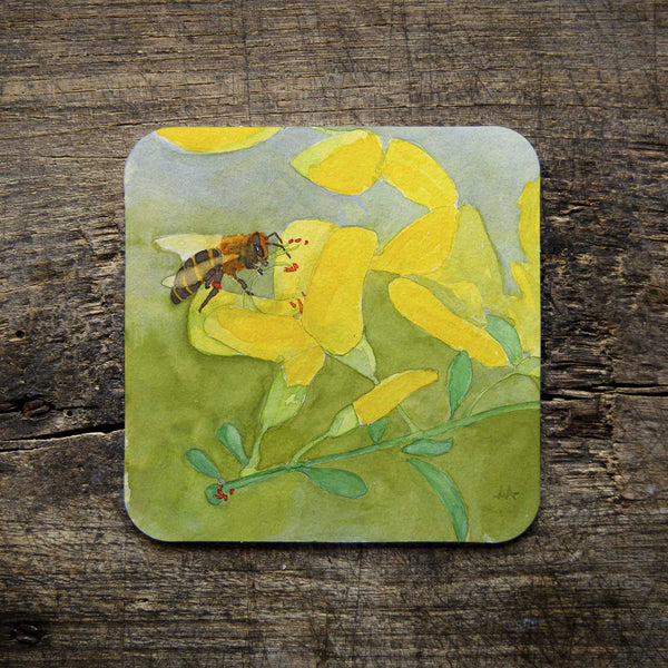 "Coasters - ""Bee Inspired"" Art Series"