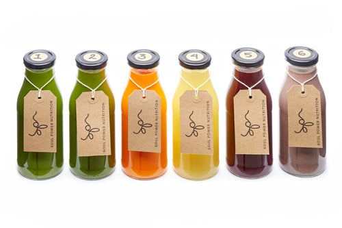 The SPN 1-Day Juice Cleanse
