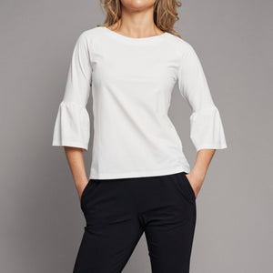Capri UV top white