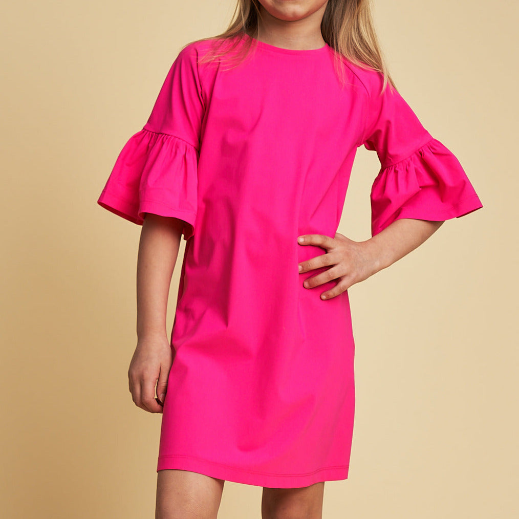 Emilia UV Tunic Dress in Chocking Pink