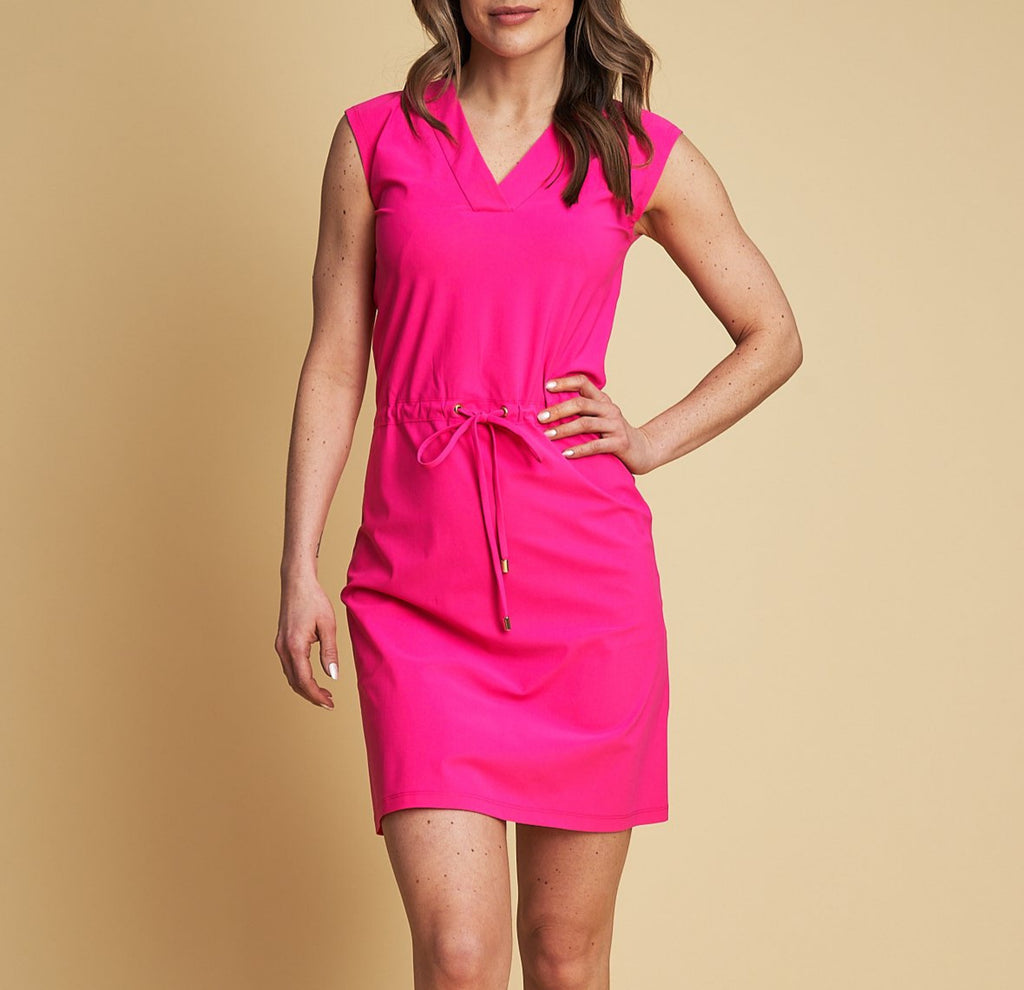 Mykonos UV dress chocking pink