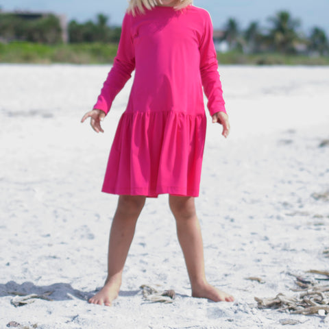 Elsa UV Dress in Chocking Pink