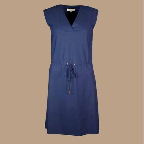 Mykonos UV dress navy