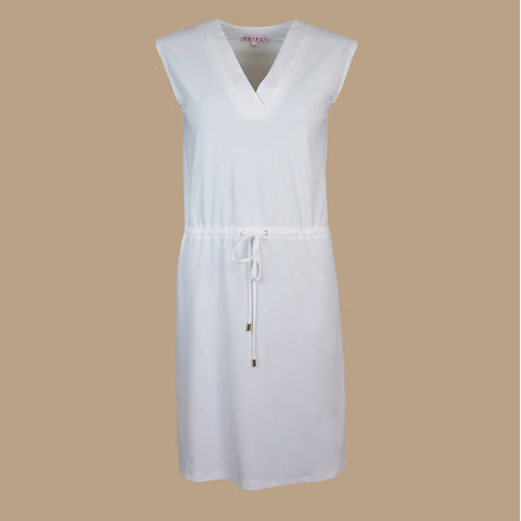 Mykonos UV dress white