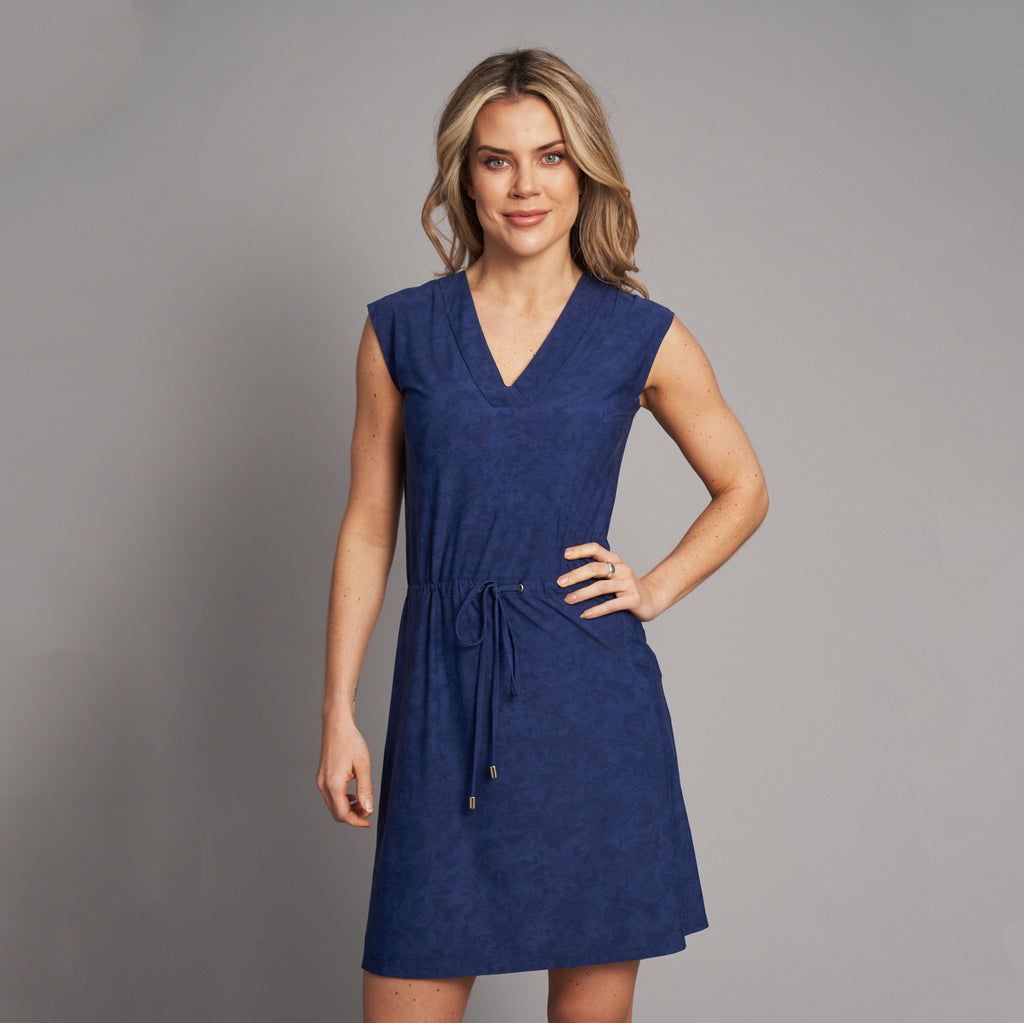 Mykonos UV dress blue