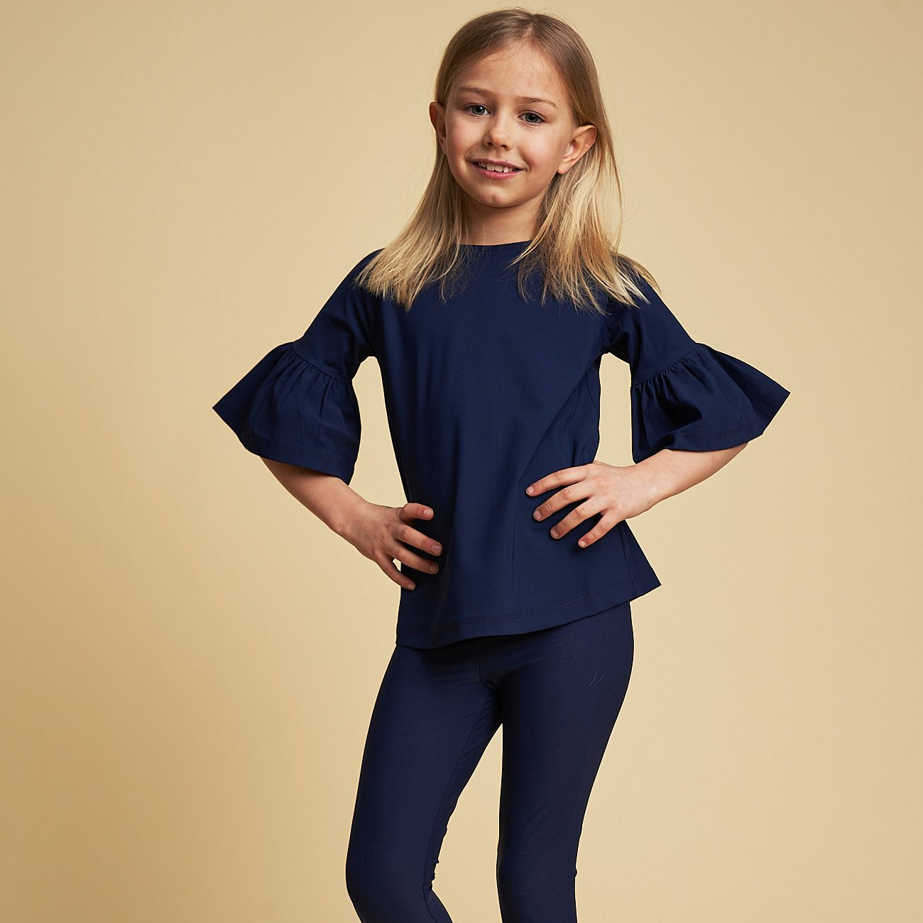 Emilia UV top in Navy