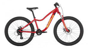 2019 Salsa Timberjack 24 Sus - Red - Kids
