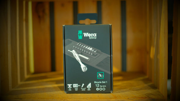 Wera Bicycle Set 1 Wrench and Bit Set - 12 piece