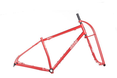 Jones Steel LWB Truss Fork Frameset - Red - Medium