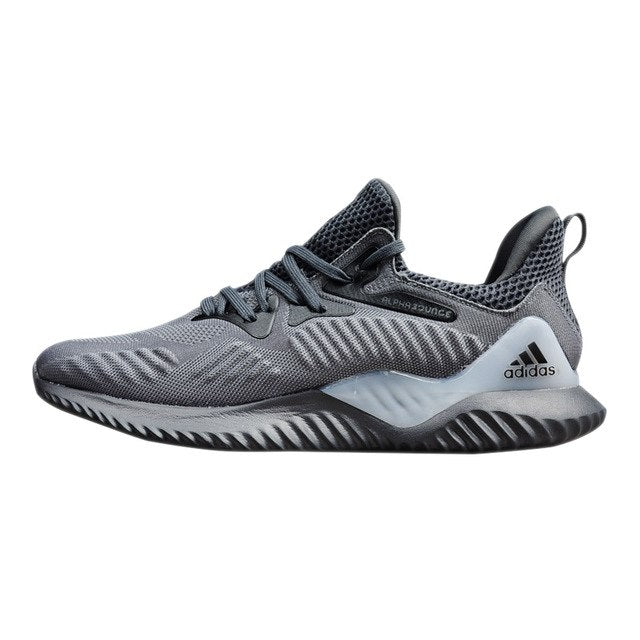 baccdec76 Adidas Alphabounce Beyond Men's Running Shoes Original Sports Outdoor  Sneakers Shoes Grey/Dark Grey Breathable