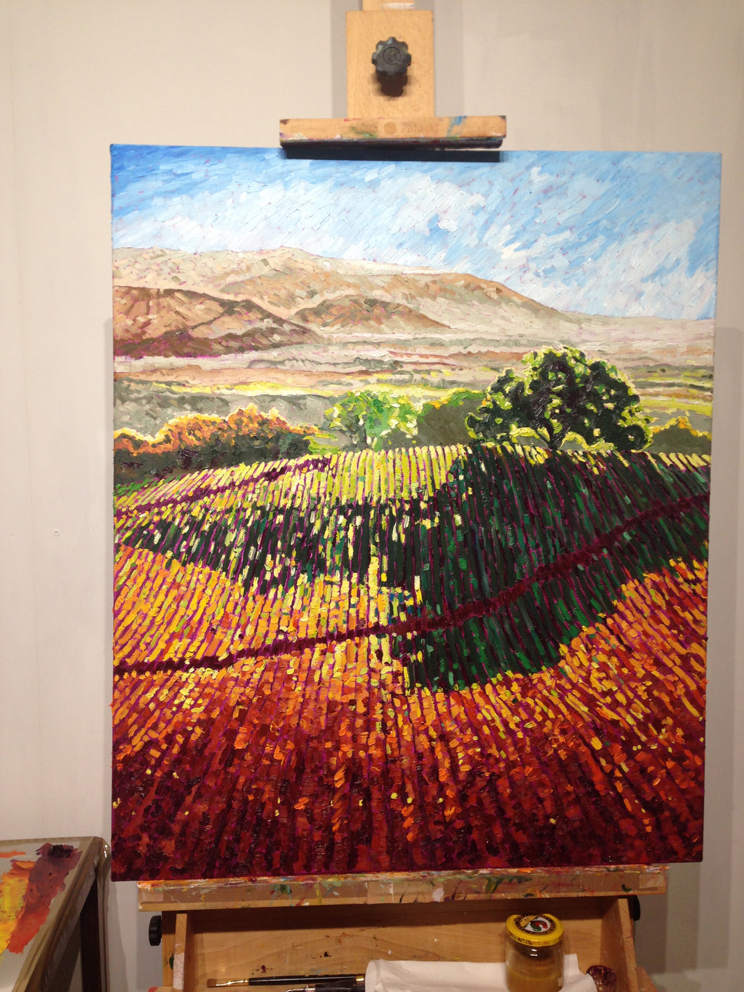 Tree on the top of the hill  (SOLD)