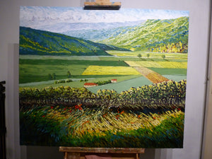 From the hill  (SOLD)