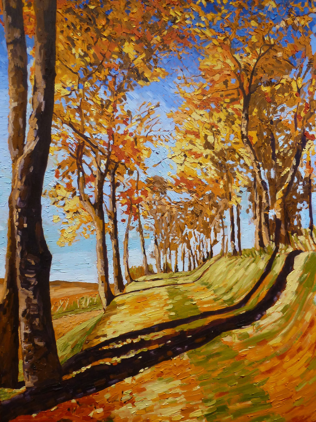 Oaks in Gold (SOLD)