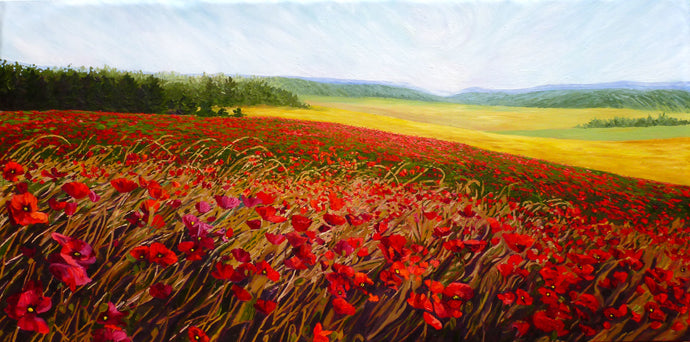 Quercy Poppies (SOLD)