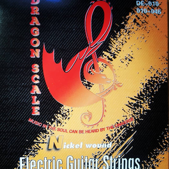 10 Gauge Electric Guitar Strings- Light Weight Nickel Round Wound Strings