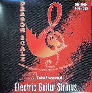 9 Gauge Electric Guitar Strings-Ultra Light Weight Nickel Round Wound Strings
