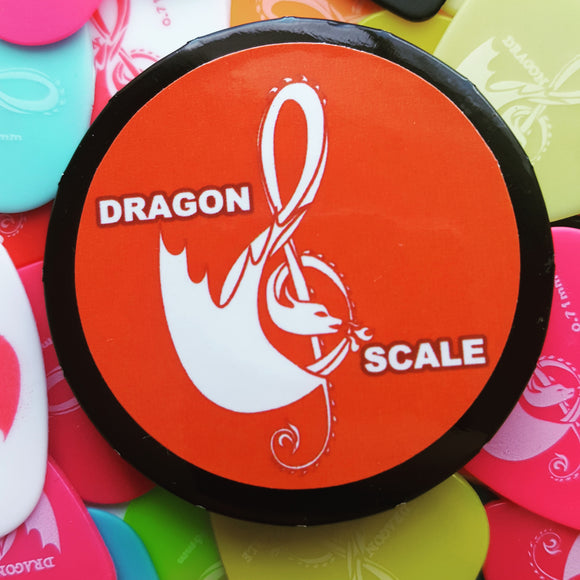 Dragon Scale Guitar Pick Pack-.46mm, .71mm, .88mm, 1mm, 1.2mm, Variety Pack