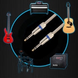 Electric Guitar Mono Jack Male To Male Stereo Audio Cable