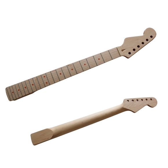 22 Fret Replacement Maple Neck Left Hand Guitar Neck for ST Strat Electric Guitar Accessory