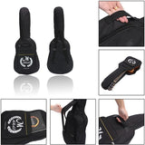 41 Inch Black Soft Guitar Gig Bag Case Fit Padded Straps