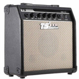 "GM-215 Professional 15W Electric Guitar Amplifier Amp Distortion with 3-Band EQ 5"" Speaker"
