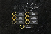 MOODY keychain | choose your mood