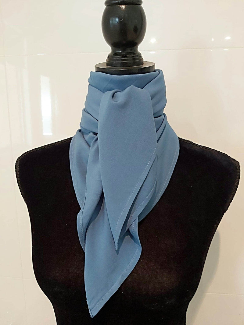 A7280 - Denim Look Rawhide Scarf - Rawhide Western Wear