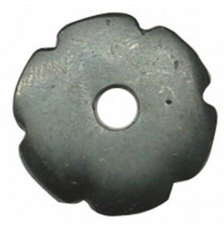 088406  - Black Roping Spur Replacement Rowel - Rawhide Western Wear