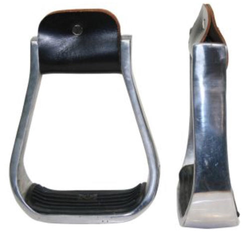 Aluminium Barrel Racer Stirrup with Pad - Rawhide Western Wear