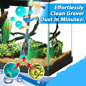 LiquiClean Automatic Aquarium Gravel Cleaner