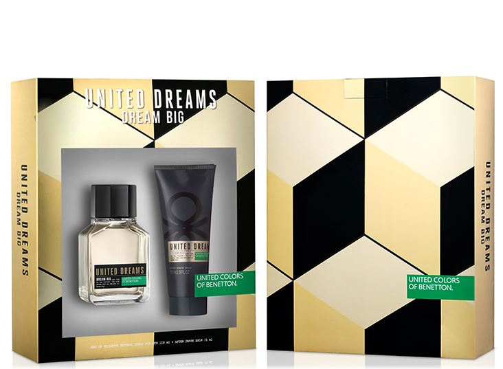 Estuche Dream Big Men Edt 100Ml+75Ml A/S Hombre