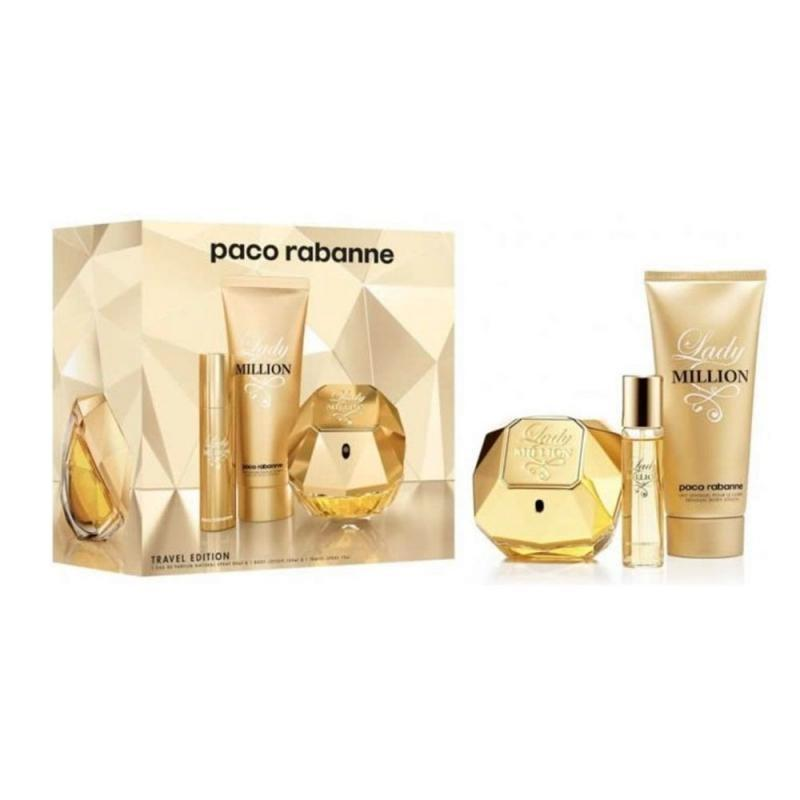 Lady Million Travel Edition Estuche 80ML EDP Mujer Paco Raba